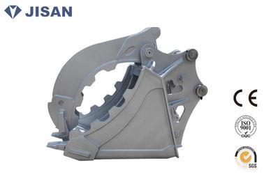 Durable Excavator Ambil Bucket Hyundai R210 Kekuatan Clamping Great Hydraulic Power